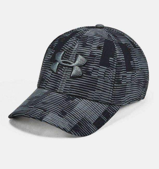7db0c85bb Men's UA Printed Blitzing 3.0 Stretch Fit Cap