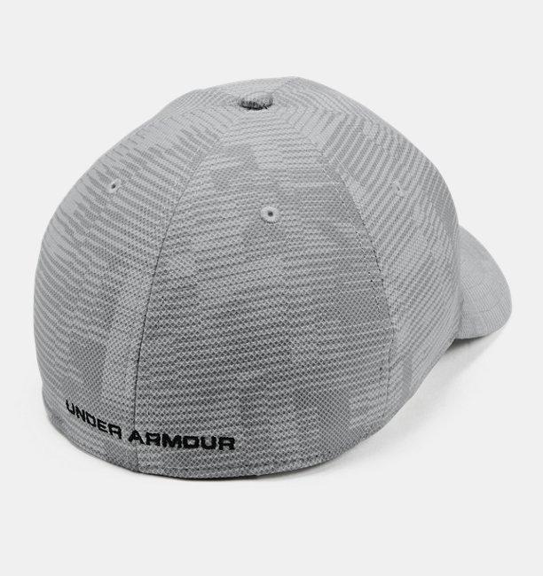 Topi UA Printed Blitzing 3.0 Stretch Fit untuk Pria