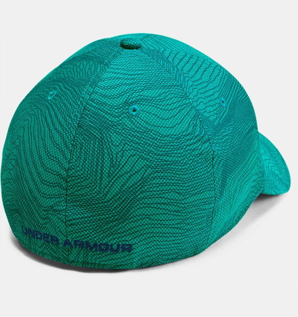 Mens UA Printed Blitzing 3.0 Stretch Fit Cap