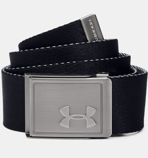 Boys UA Solid Webbing Belt