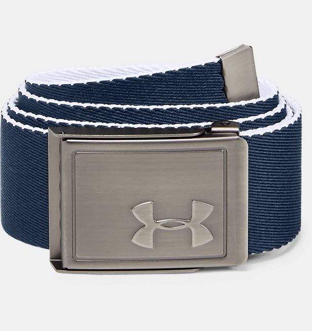 Boys UA Solid Webbing Belt