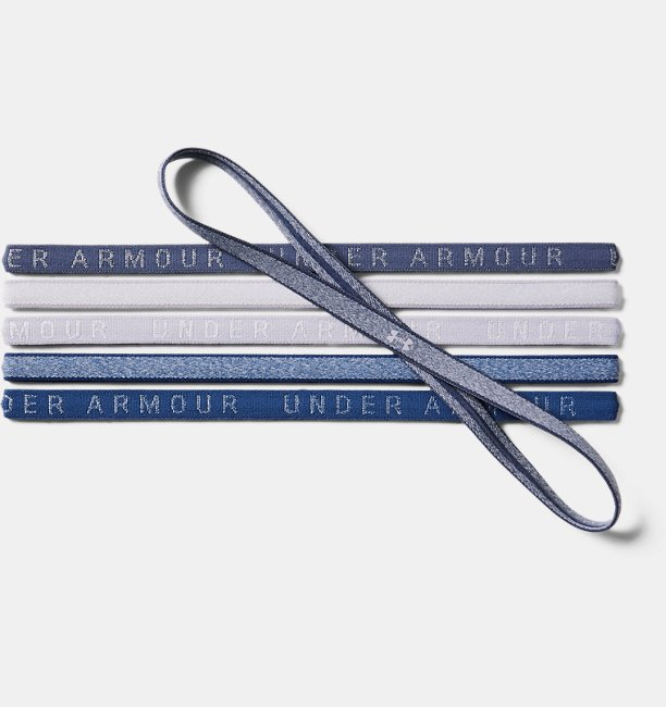 Damen UA Mini-Haarbänder in melierter Optik – 6er-Pack