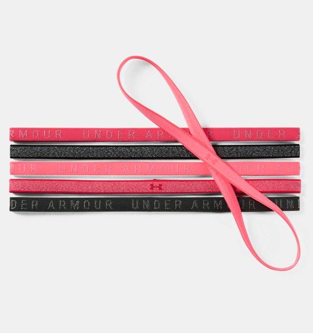 Womens UA Heathered Mini Headbands - 6 Pack