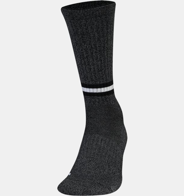 Mens UA Phenom Twisted Crew Socks