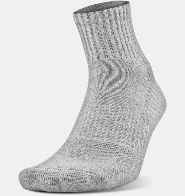 6f8dfef2e829 UA Charged Cotton® 2.0 Quarter Socks