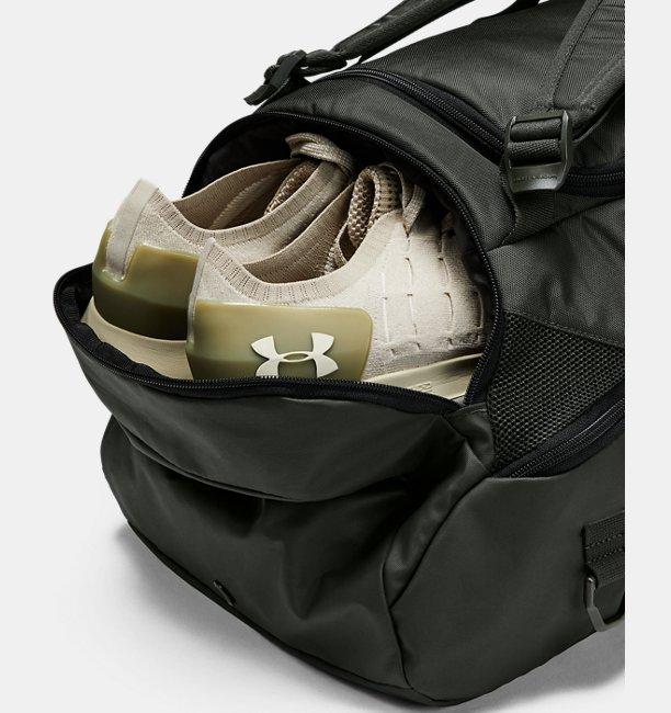 Mens UA Contain Duo 2.0 Backpack Duffle