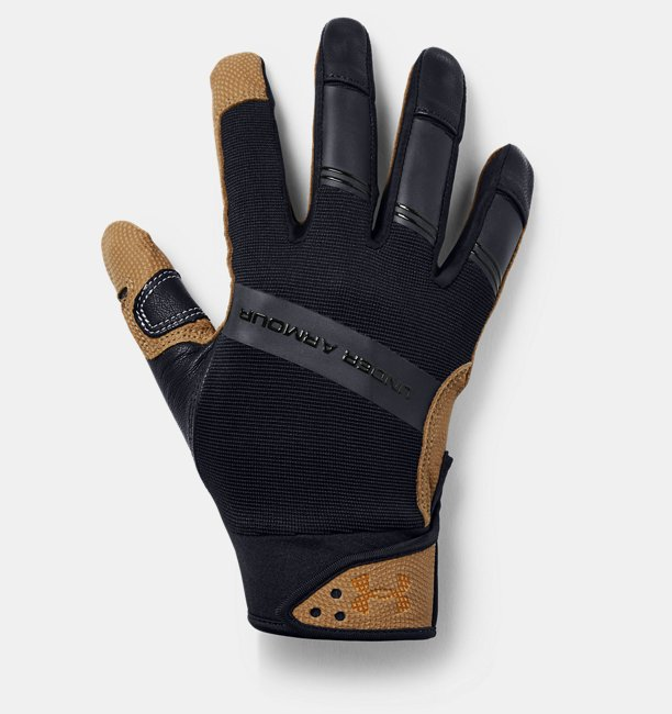 Mens UA Cage Batting Gloves