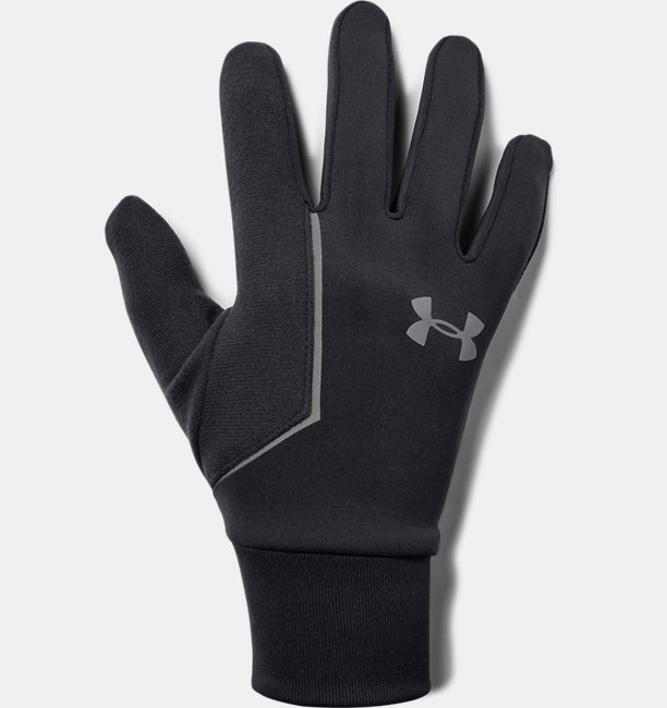 Mens UA Storm Run Liner Gloves
