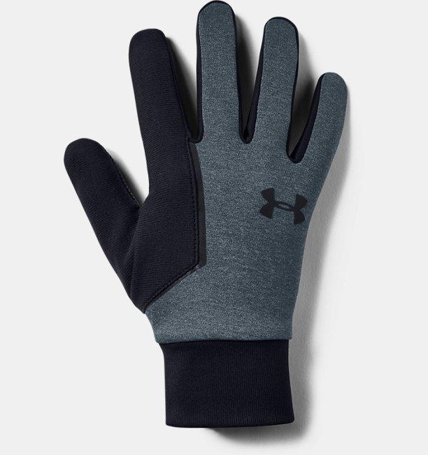 Mens UA Storm Run Liner Gloves