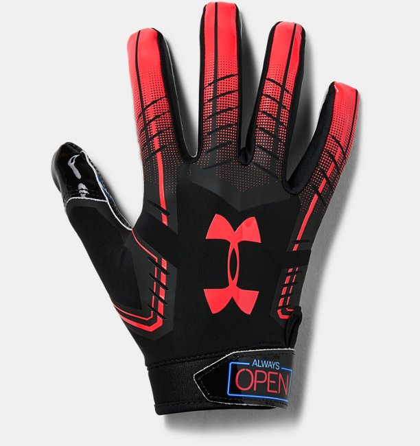 Mens UA F6 Patterned Football Gloves