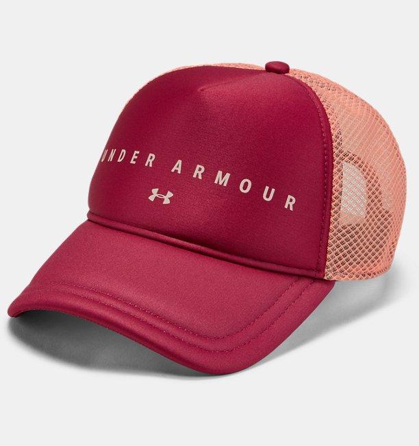 Womens UA Diamond Mesh Trucker Cap