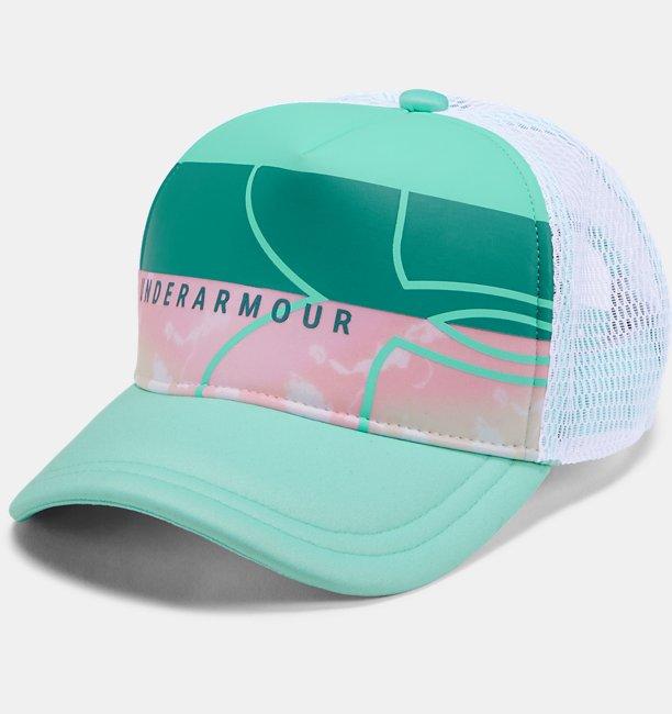 Girls UA UV Activated Trucker Cap