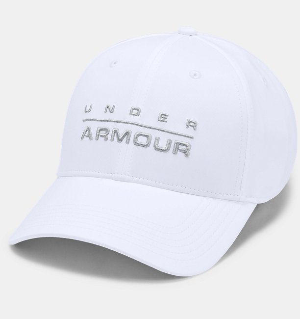 Mens UA Wordmark Stretch Fit Cap