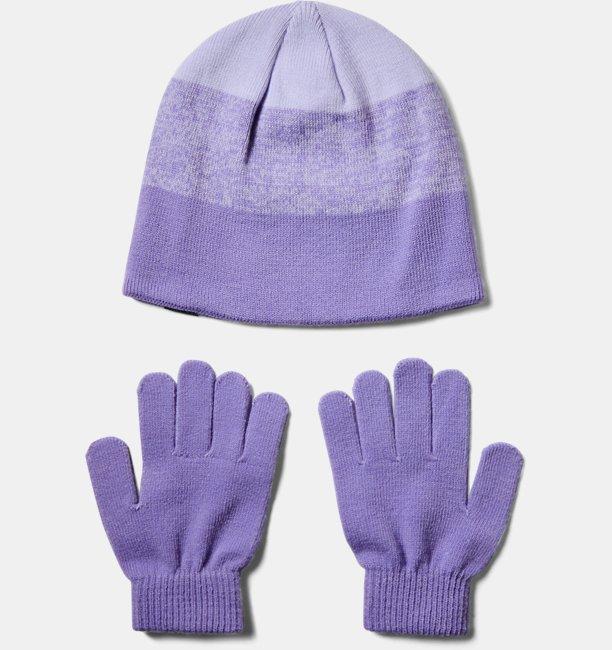 Girls UA Beanie & Glove Combo