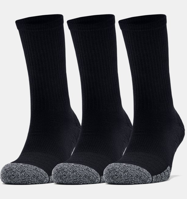 Adult HeatGear® Crew Socks 3-Pack