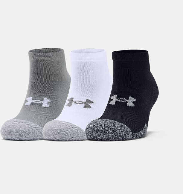 Adult HeatGear® Lo Cut Socks 3-Pack