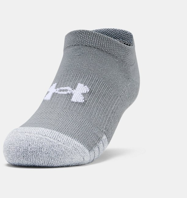Youth HeatGear® No Show Socks 3-Pack