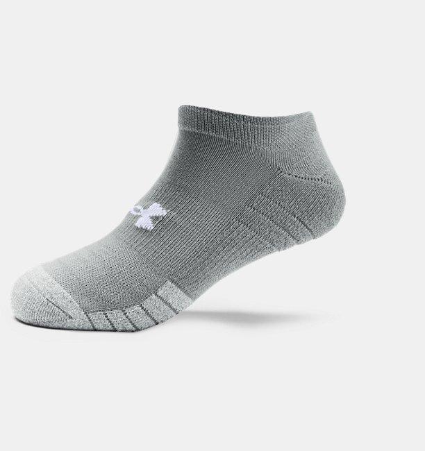 Adult HeatGear® No Show Socks 3-Pack