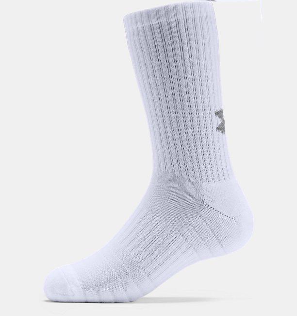 UAトレーニング コットン クルー<3足セット>(トレーニング/UNISEX)
