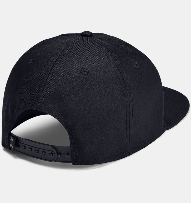 Mens Project Rock Strength Flat Brim Cap