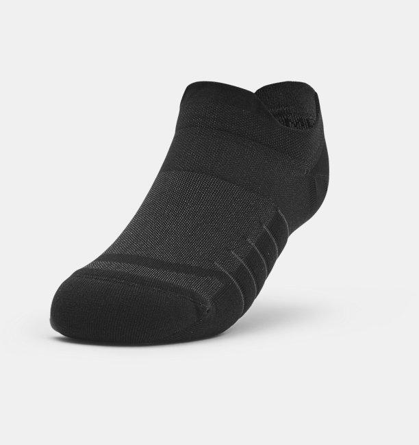 Womens UA Breathe No Show Tab – 3-Pack Socks