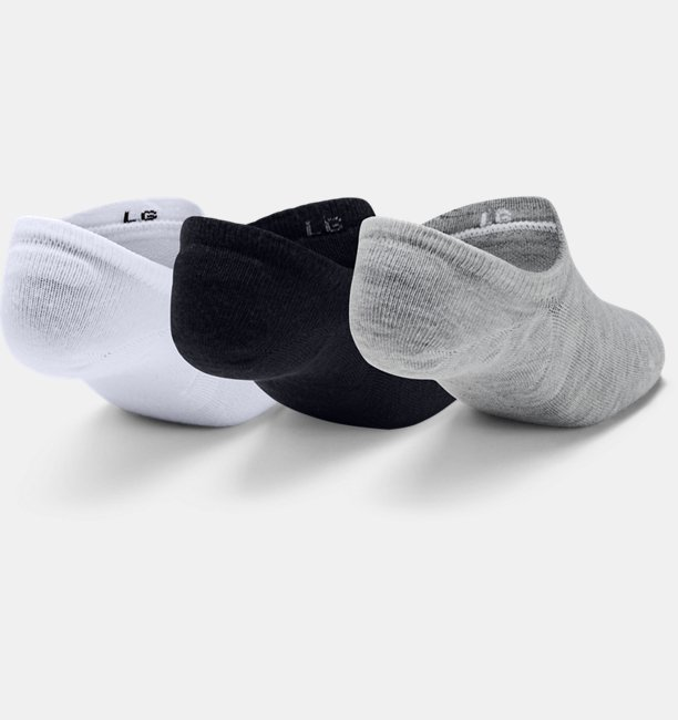 Unisex UA Ultra Lo – 3-Pack Socks