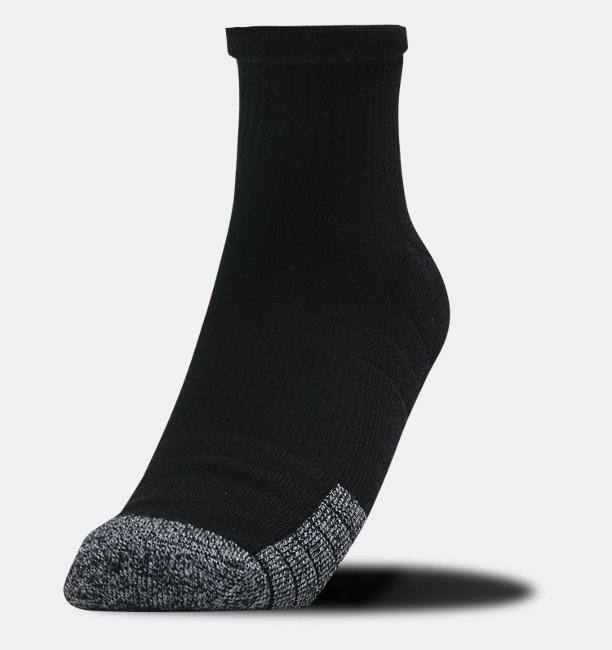 Mens HeatGear® Quarter Socks 3-Pack