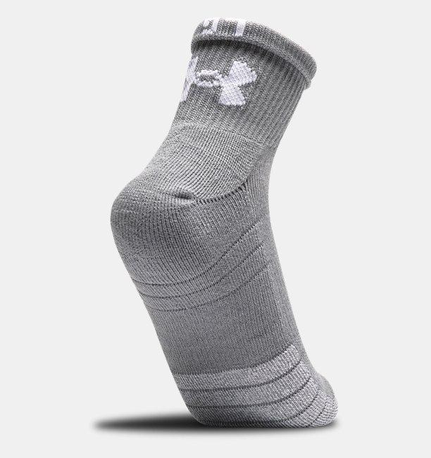 Mens HeatGear® Quarter Socks 3-Pack