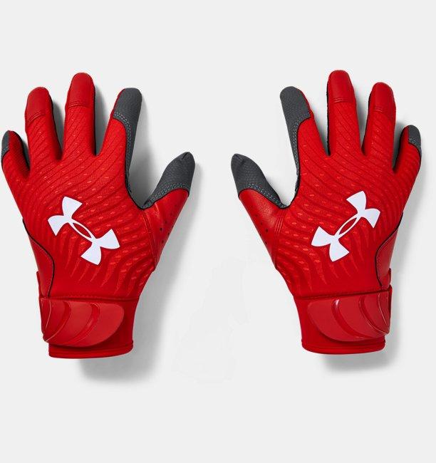 Youth UA Harper Hustle Batting Gloves