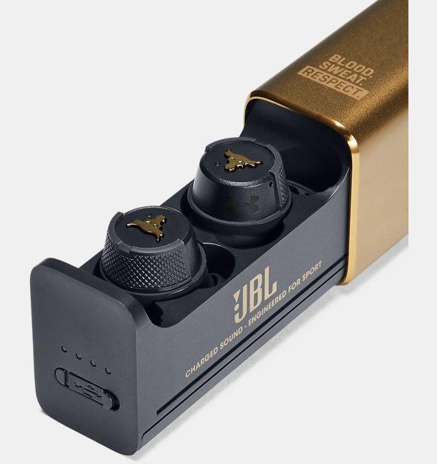 UA True Wireless Flash Headphones — Project Rock Edition