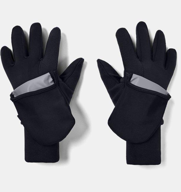 Womens UA Run Convertible Gloves