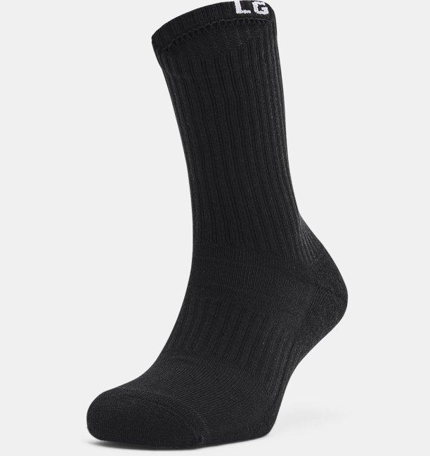 Unisex UA Core Crew 3-Pack Socks