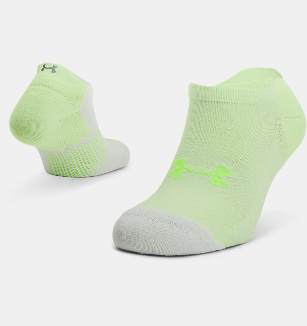 Unisex UA Armour Dry™ Run No Show Socks