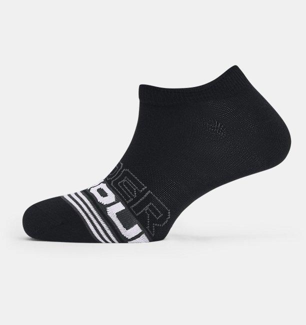 Unisex UA Essential No Show 3-Pack Socks