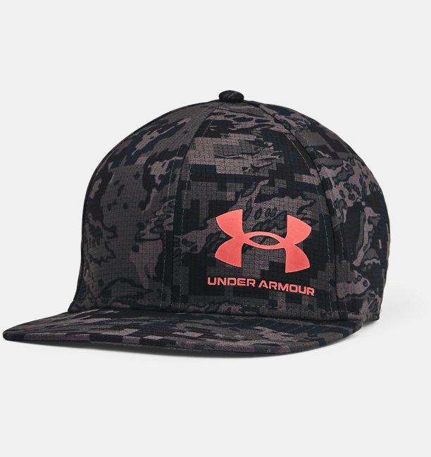 Mens UA Iso-Chill ArmourVent™ Flat Brim Cap