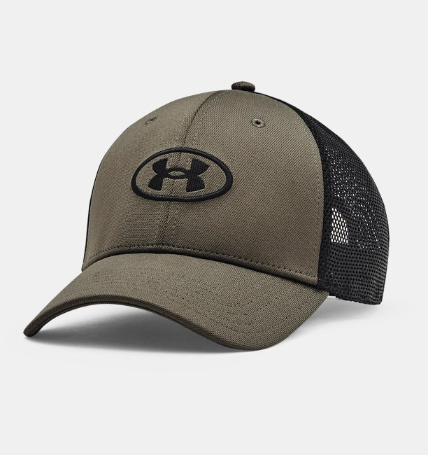 Mens UA Blitzing Trucker Hat