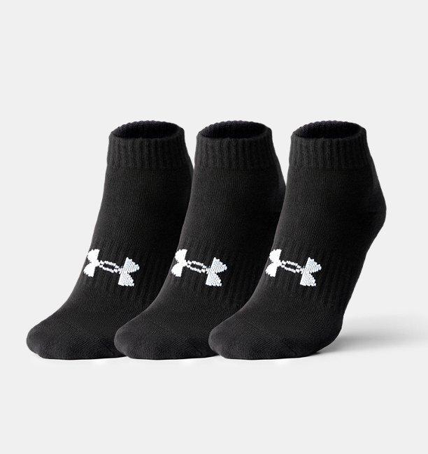 Unisex UA Core Low Cut 3-Pack Socks