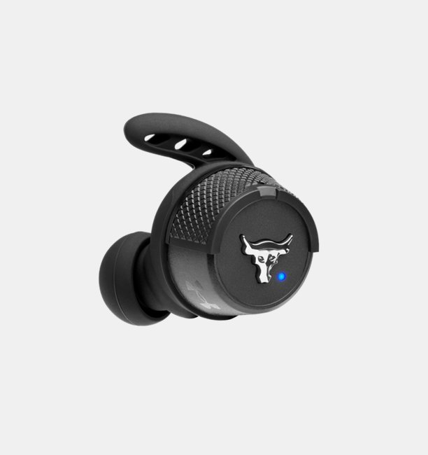 UA True Wireless Flash X Project Rock Edition Headphones