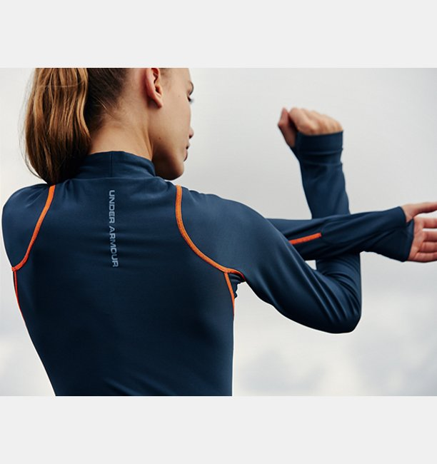 Womens UA Trek Armour Bodysuit