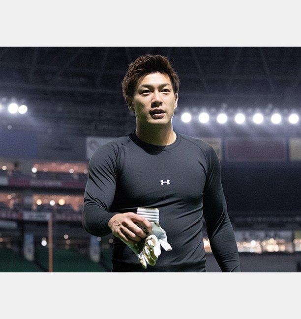 【アウトレット】UAコールドギアアーマーLSモック(ベースボール/長袖ベースレイヤー/MEN)