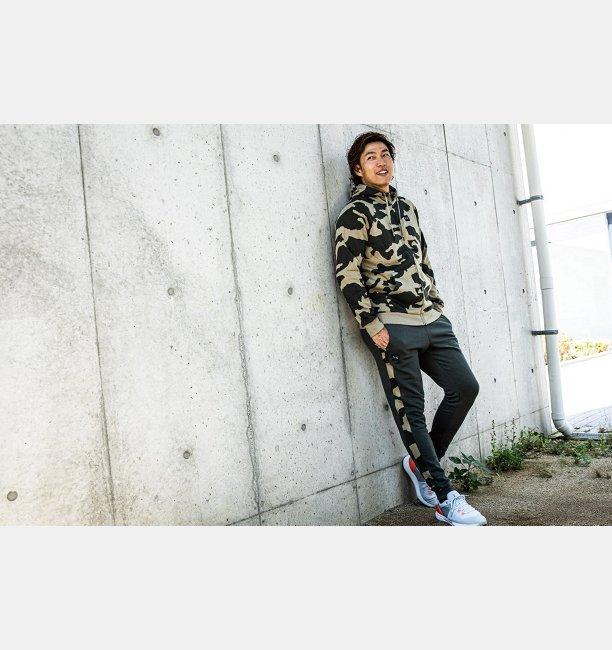UAライバルフリース カモ プリントジョガー(トレーニング/ジョガーパンツ/MEN)