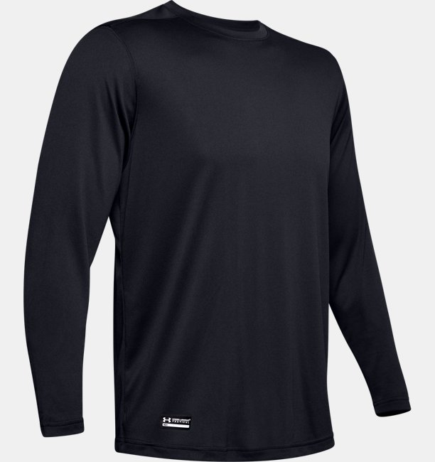 Mens Tactical UA Tech™ Long Sleeve T-Shirt