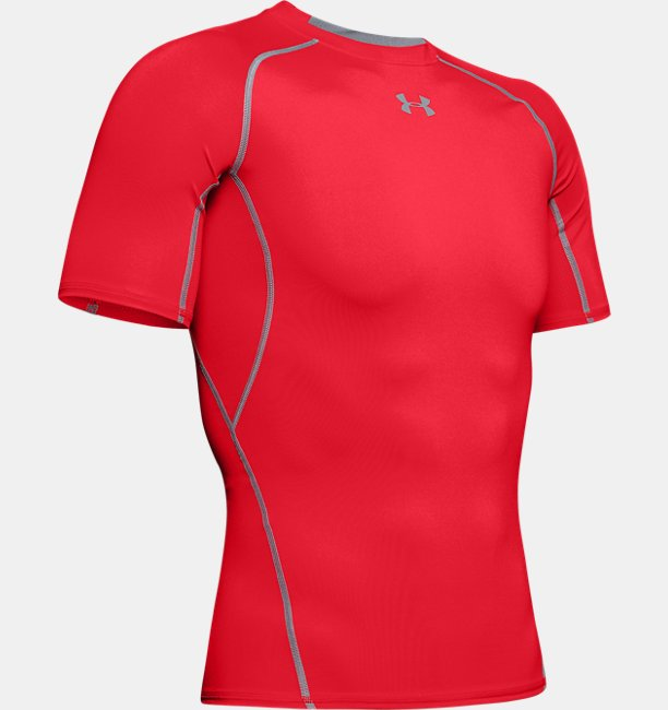 Mens UA HeatGear® Armour Short Sleeve Compression Shirt