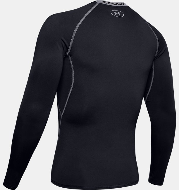 Mens UA HeatGear® Armour Long Sleeve Compression Shirt