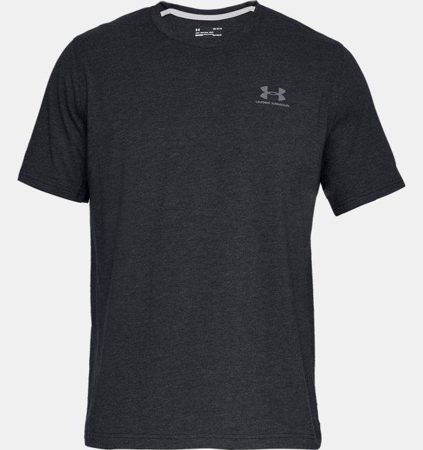 Men's UA Charged Cotton® Left Chest Lockup T Shirt