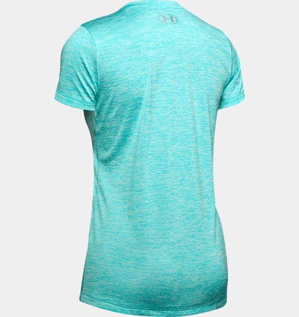 Camiseta UA Tech™ Twist V-Neck Feminina