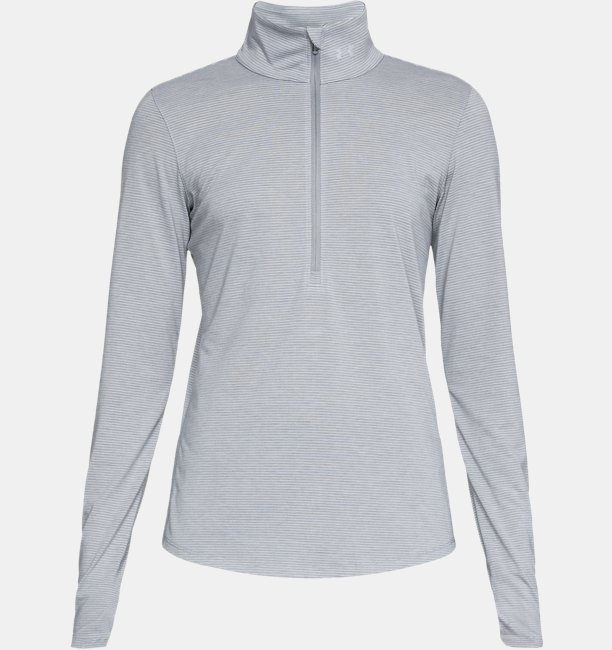 Damen Laufshirt Threadborne™ Streaker mit ½ Zip   Under Armour DE 25561e6b9a