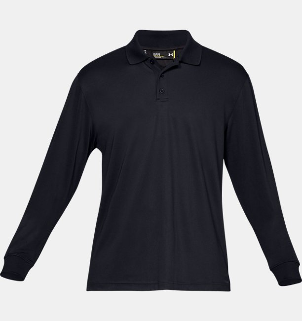 Herren-Polo UA Tactical Performance (langärmelig)