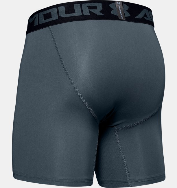 Mens HeatGear® Armour Mid Compression Shorts