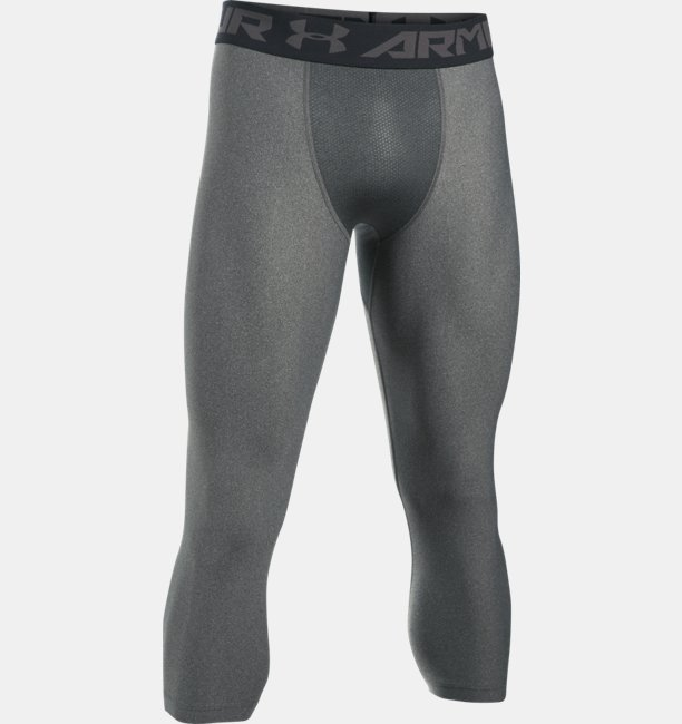 Mens HeatGear® Armour Compression ¾ Leggings